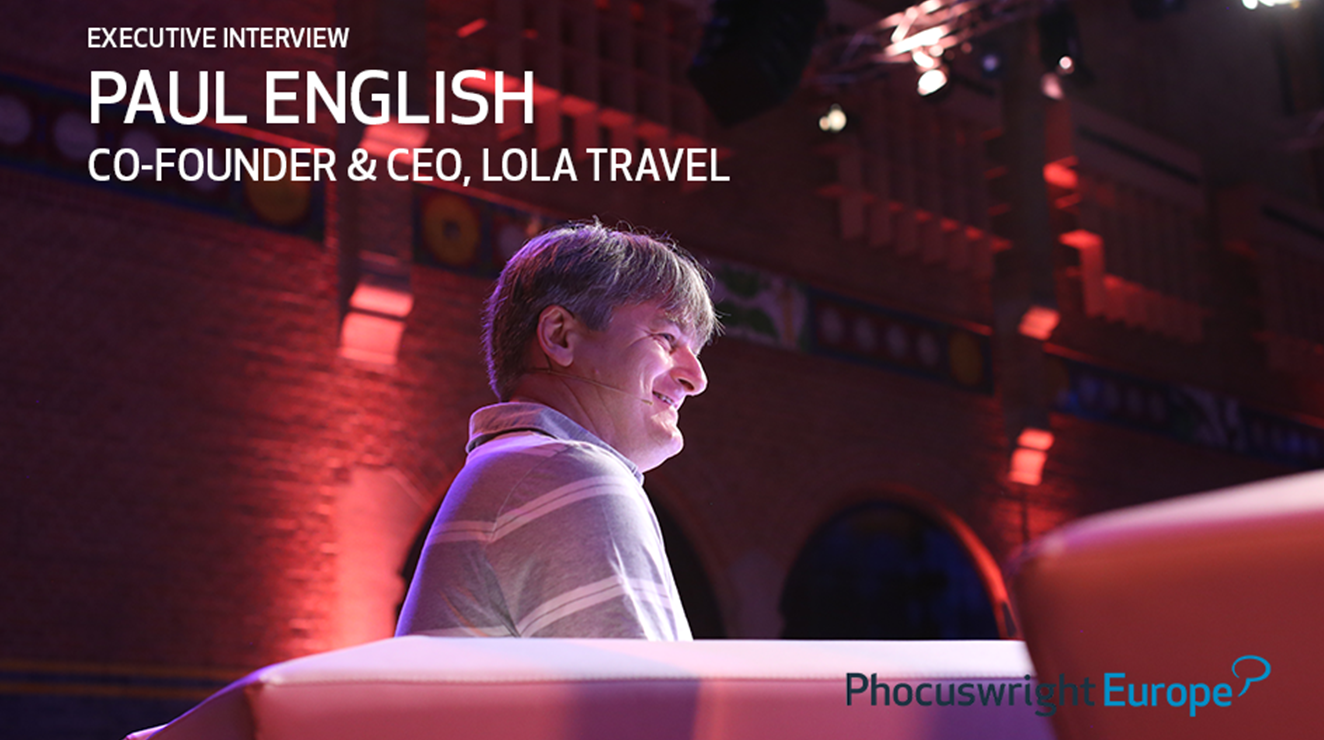Executive Interview with Lola's Paul English